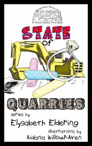 JGDS State of Quarries cover rock font